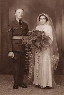 Ivy on her wedding Day